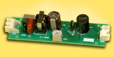 LED Driver operates with 110 Vac.