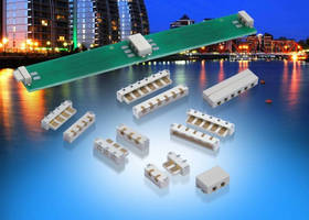 Single-Sided Lighting Connectors feature 5 A current rating.