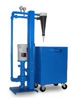 Hydrocyclonic Separator cleans sumps without filter media.