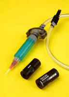 Miniature Vacuum Pump offers drip control for dispensing.