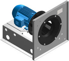 Plenum Fans have backward curved airfoil wheels.