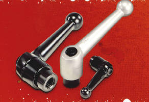 A New Series of 500 Clamping & Adjustable Levers from All Metric Small Parts Are Stocked in 6 Materials