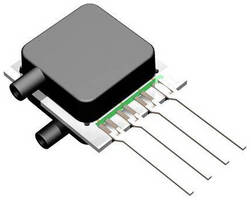 Low Voltage Pressure Sensors offer multiple port configurations.