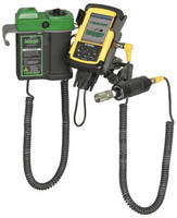 Data Logger features wired connection for challenging jobs.