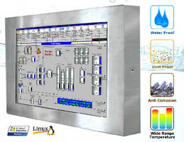 Weatherproof LCD Computers feature full IP65/NEMA 4 rating.