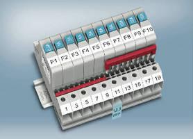 Circuit Breakers feature resettable, single-pole design.