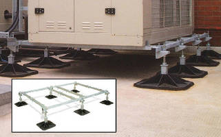 Rooftop HVAC Mounts are offered as prefabricated modules.