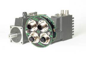 Servo Motor Module utilizes M12 connectors for safety.