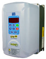Variable Frequency Drive features washdown duty design.