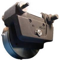Caliper Disc Brake has electric, spring applied design.