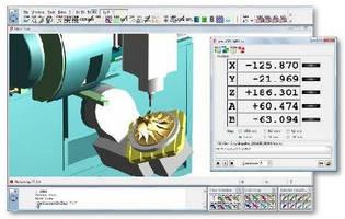 CAD/CAM Software provides full machine simulation.