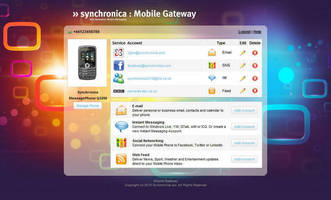 Mobile Communications Software supports IM/social networking.