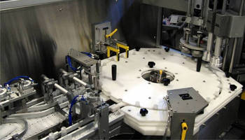 Filling/Capping System integrates new weigh capability.