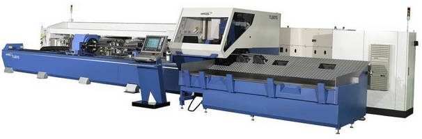 Laser Tube Cutting System offers fully automatic operation.