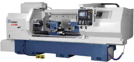 Mid-Sized CNC Lathe comes in multiple configurations.