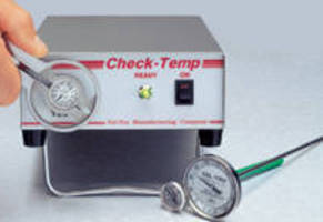Thermometer Calibrators suit School Food Services applications.