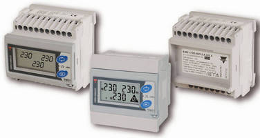Three-Phase Energy Meter delivers robust multifunctionality.