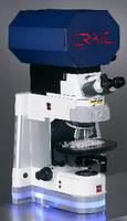 Microspectrophotometer provides non-destructive analysis.