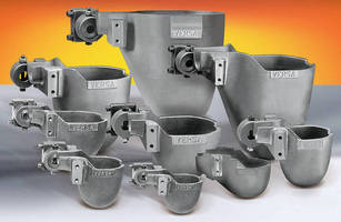 Ladle Cup and Bracket Replacements fit most die casting machines.