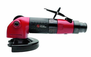 Industrial-Strength Grinders include angled/straight models.