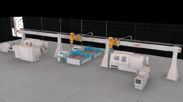 Articulated Robot System handles 150 kg payload.