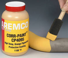Corrosion Protection Coating works in temperatures to 1,100°F.