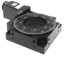 Rotary Stages feature low 32 mm profile height.