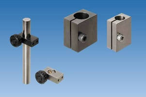 Misumi Unveils New Posts and Clamps for Mounting of Photoelectric Sensors and CCD Cameras