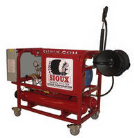 Sioux All-Electric E-Series Pressure Washers and Steam Cleaners Now Feature CE Mark
