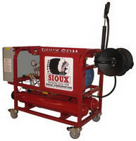 Pressure Washers, Steam Cleaners have all-electric design.