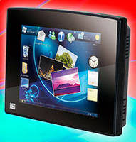 Fanless Panel PC offers resistive and PCT display options.