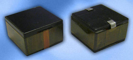 High Power Density Inductor suits DC/DC converter applications.