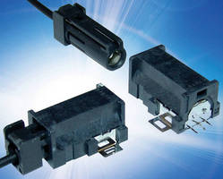 Coax Antenna Connector suited for high-frequency applications up to 2.5 GHz.
