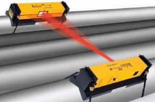 Laser Alignment System provides parallel roll alignment.