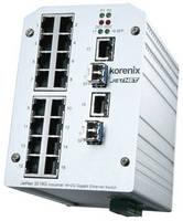 Intelligent Gigabit Ethernet Switch offers high port density.