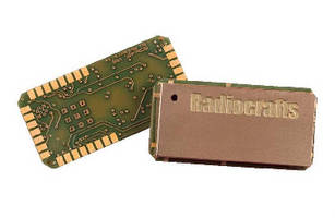 RF Modules operate at 2.45 GHz license-free band.