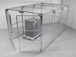 Storage Cages offer all-weather outdoor protection.