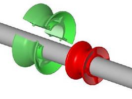 Split Spools target line-shaft conveyors.