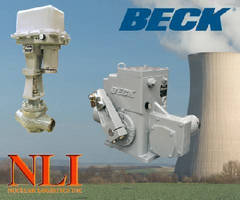 Nuclear Qualified Beck Electric Actuators for Modulating Control