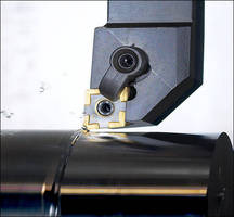Turning Insert is suited for steel and alloys.