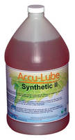 Minimum Quantity Metalworking Lubricant suits stamping applications.