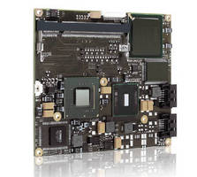Computer-on-Module supports 24-bit LVDS and SDVO.