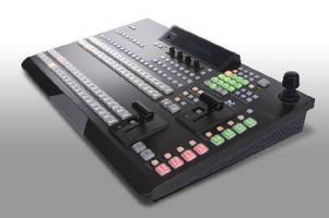 Digital Video Switcher features 1.5 M/E functionality.