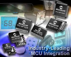 Mid-Range 8-Bit MCUs provide up to 28 KB Flash program memory.