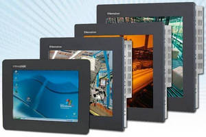 Industrial Monitor fits into limited-space applications.