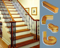 Outwater Introduces Traditional Handrails and Fittings in Red Oak