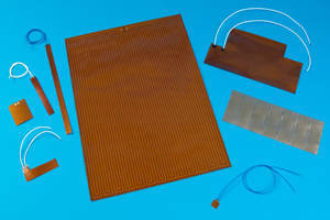 Kapton® Heating Elements come in densities up to 5 W/in.².