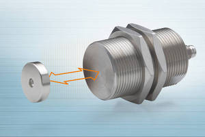 Eddy-Current Sensors offer 40 mm measuring range.