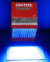 LED Flood System cures UV/Visible light cure adhesives.