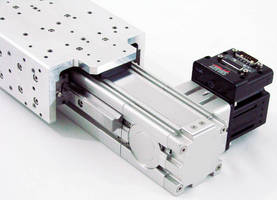 Belt-Driven Linear Actuator does not require gearhead.